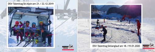 DSV-Talenttage Alpin, Skilanglauf