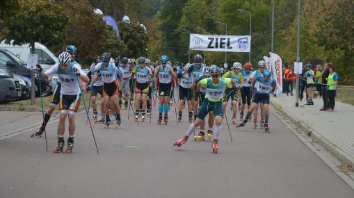 Geiseltal Rollski Race, Deutsche Meisterschaft Flachstrecke 2019