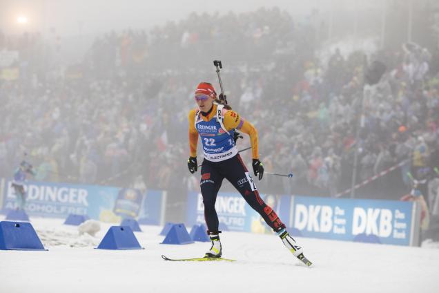 Denise Herrmann, Oberhof 2020, Sprint