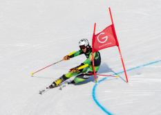 Jonas Schmid, Telemark-Weltcup Rjukan 2020, Sprint