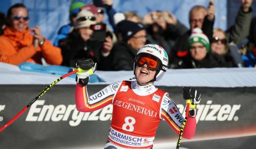Viktoria Rebensburg, WC Garmisch-Partenkirchen 2020, AF