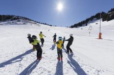 Schneesport schaut hin
