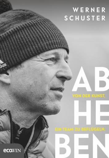 Cover, Werner Schuster, Abheben