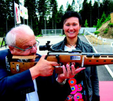Erwin Lauterwasser und Simone Hauswald