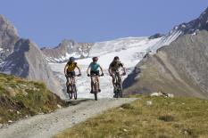 Mountainbike fahren