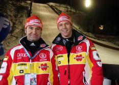 Horst Hüttel und Werner Schuster