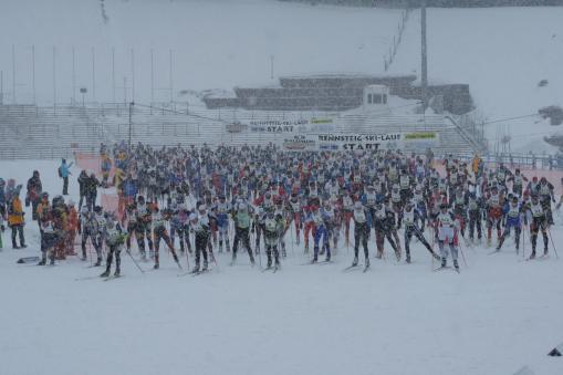 34. Rennsteig-Skilauf