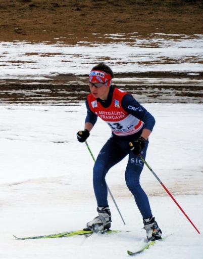 Jakob Lange beim Alpencup-Finale 2011