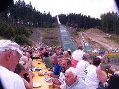 Skispringen der Damen in Bischofsgrün