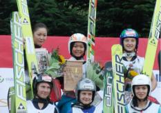 Podium FIS Ladies Cup, Pöhla