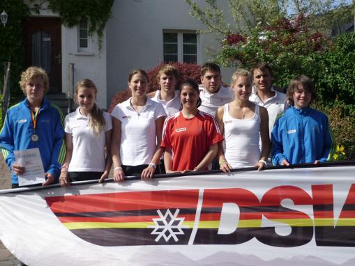 DSV Ski Inline Team beim Inline-Alpin-Weltcup 2011