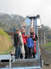 Segnung HS 106-Schanze Erdinger Arena Oberstdorf
