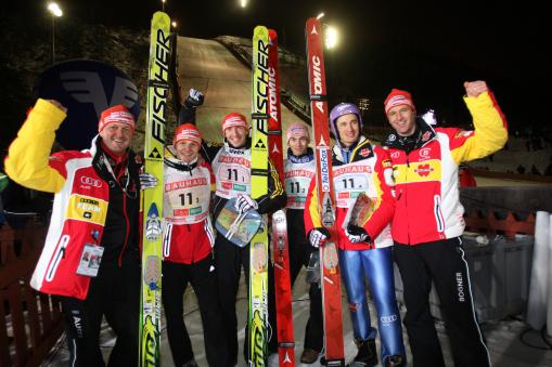 Skisprung-Team
