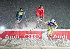 AUDI FIS Ski Cross Weltcup St. Johann