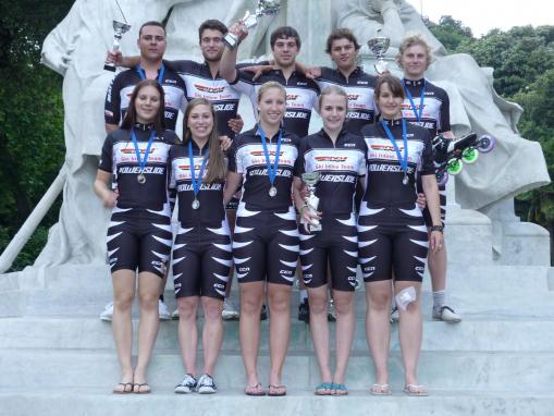 DSV Ski-Inline Team, Weltcup Genua