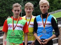 Sebastian Bradatsch, Seppi Lechner, Tim Fuchs